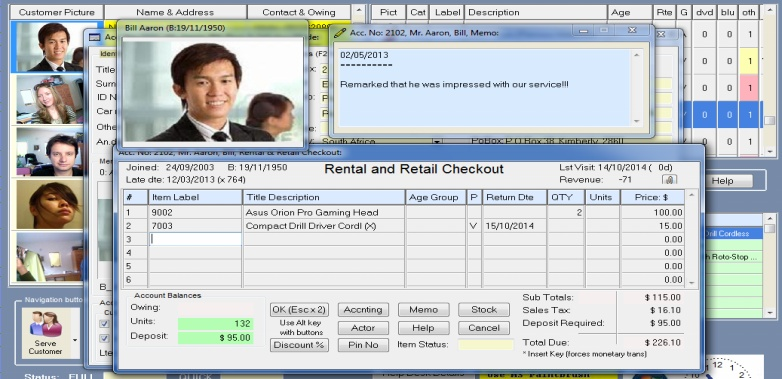 amazing dvd rentals software web app